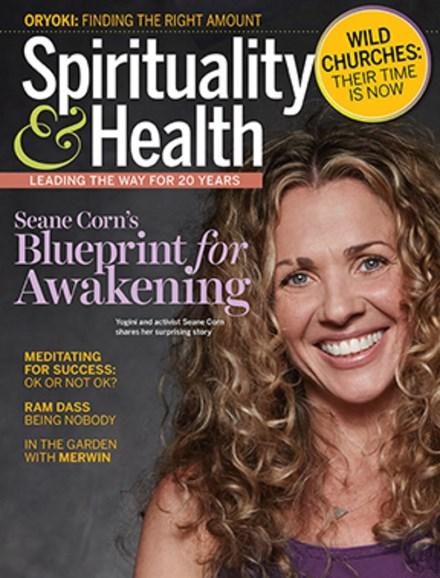 Spirituality & Health Cover - 7/1/2019