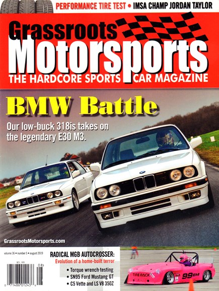 Grassroots Motorsports Cover - 8/1/2019