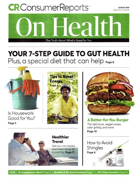 Consumer Reports On Health Cover - 8/1/2019