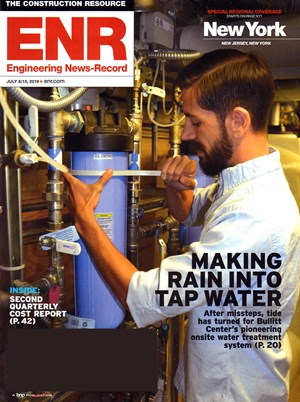 Engineering News Record Magazine | 7/8/2019 Cover
