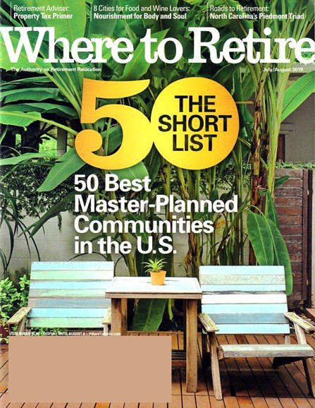 Where To Retire Cover - 7/1/2019