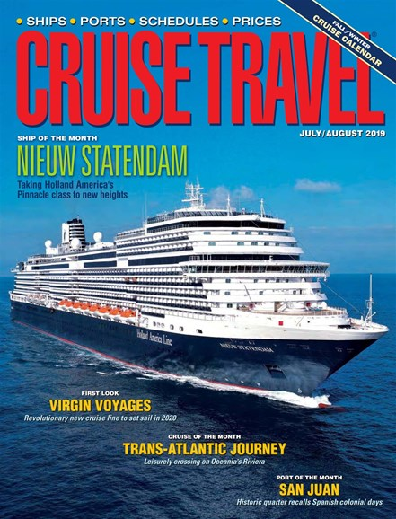 Cruise Travel Cover - 7/1/2019