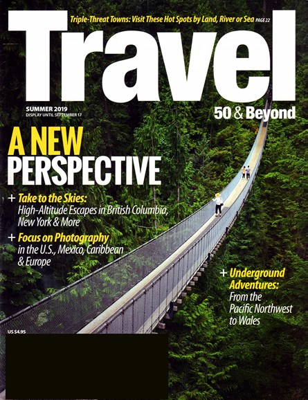 Travel 50 & Beyond Cover - 6/1/2019