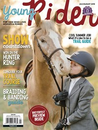 Young Rider Magazine | 7/2019 Cover
