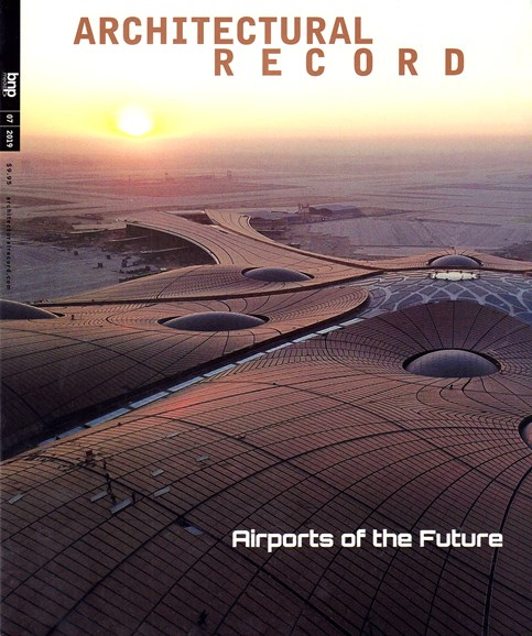 Architectural Record Cover - 7/1/2019