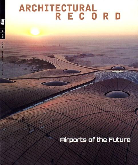 Architectural Record Cover - 7/1/2019