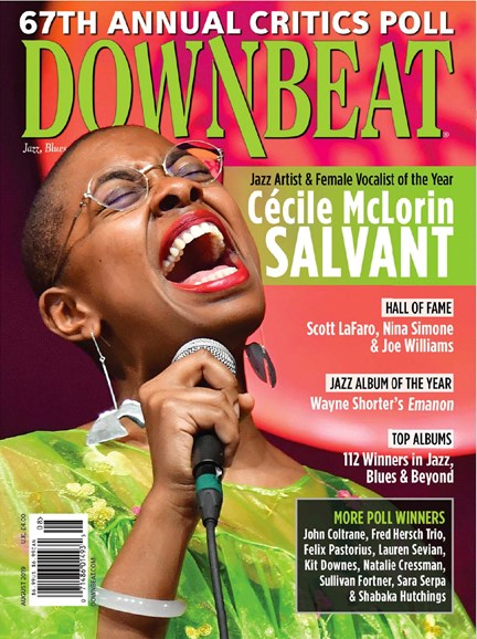 DownBeat Cover - 8/1/2019