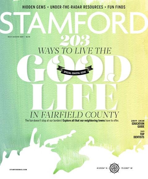 Stamford Magazine Cover - 7/1/2019
