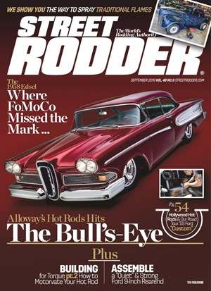 Street Rodder Magazine | 9/2019 Cover