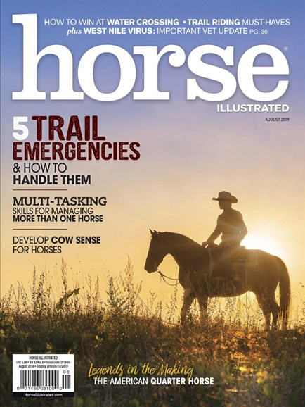 Horse Illustrated Cover - 8/1/2019