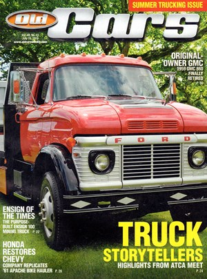 Old Cars Weekly Magazine   7/18/2019 Cover
