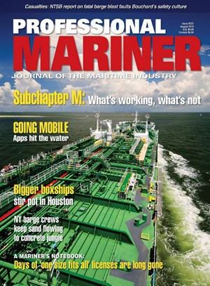 Professional Mariner Magazine | 8/2019 Cover