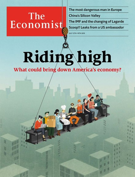 The Economist Cover - 7/13/2019