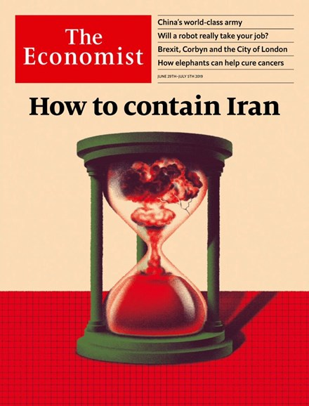 The Economist Cover - 6/29/2019