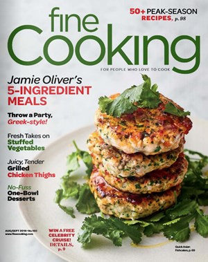 Fine Cooking Magazine | 8/2019 Cover