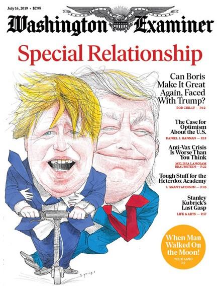 Washington Examiner Cover - 7/16/2019