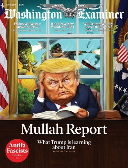 Washington Examiner Cover - 7/9/2019