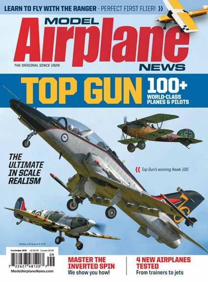 Model Airplane News Cover - 9/1/2019