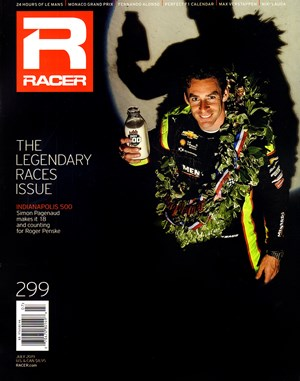 Racer Magazine | 7/2019 Cover