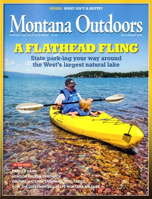 Montana Outdoors Magazine | 7/2019 Cover