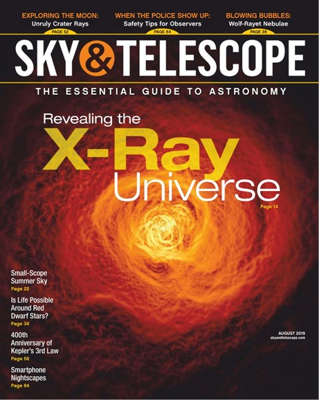 Sky & Telescope Cover - 8/1/2019
