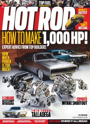 Hot Rod Magazine | 9/2019 Cover