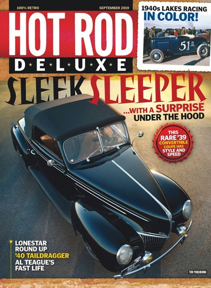 Hot Rod Deluxe Cover - 9/1/2019