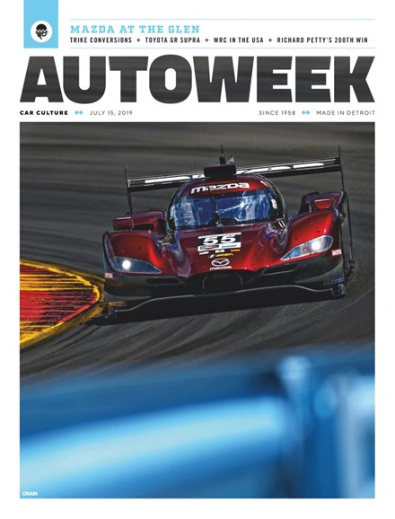 Autoweek Cover - 7/15/2019