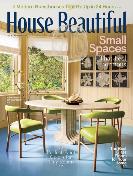 House Beautiful Cover - 7/1/2019