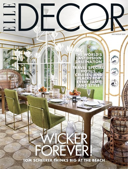 ELLE DECOR Cover - 7/1/2019