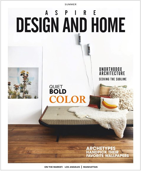 Aspire Design and Home Cover - 6/1/2019