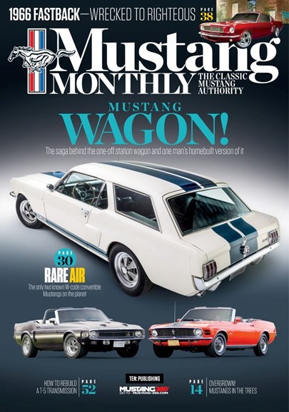 Mustang Monthly Cover - 8/1/2019