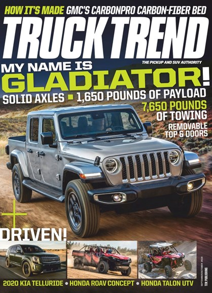 Truck Trend Cover - 9/1/2019