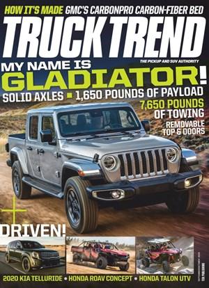 Truck Trend Magazine | 9/2019 Cover