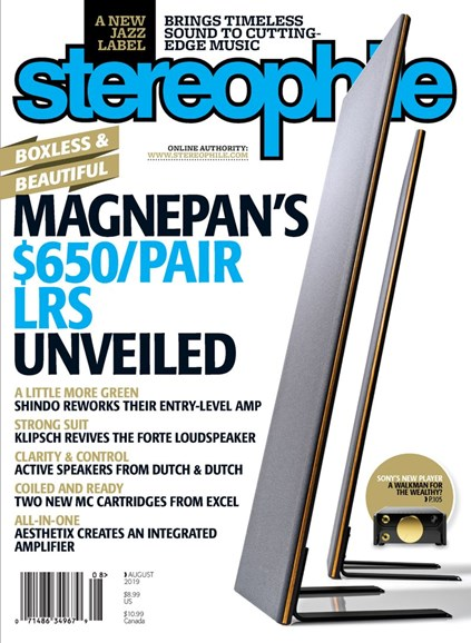 Stereophile Cover - 8/1/2019