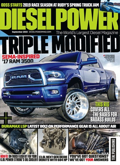 Diesel Power Cover - 9/1/2019