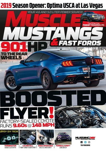 Muscle Mustangs & Fast Fords Cover - 9/1/2019