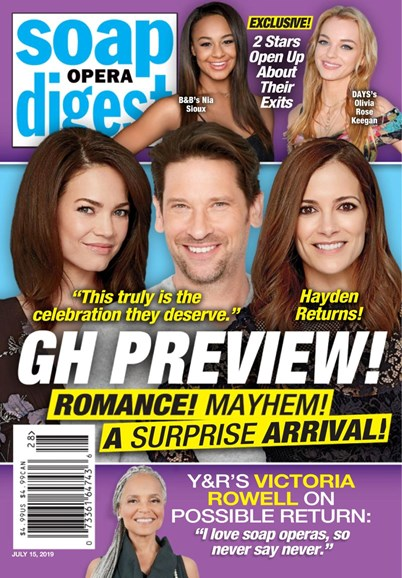Soap Opera Digest Cover - 7/15/2019