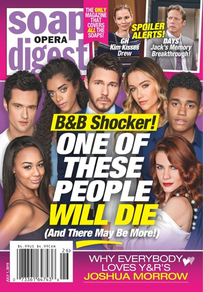 Soap Opera Digest Cover - 7/1/2019