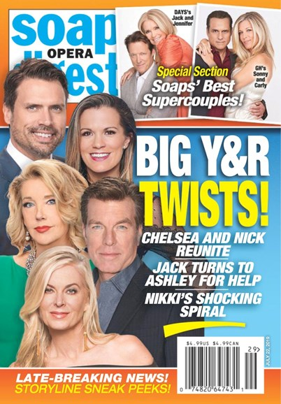 Soap Opera Digest Cover - 7/22/2019