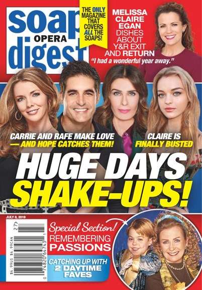 Soap Opera Digest Cover - 7/8/2019