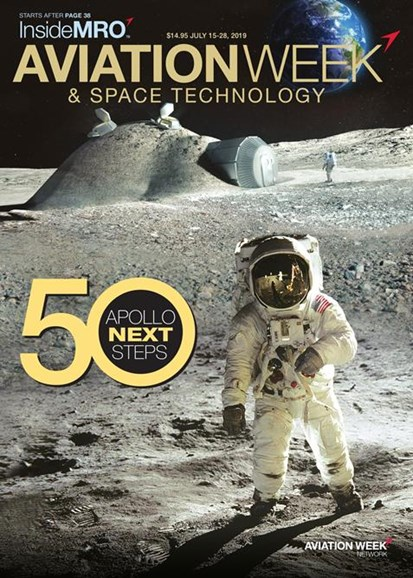 Aviation Week & Space Technology Cover - 7/15/2019