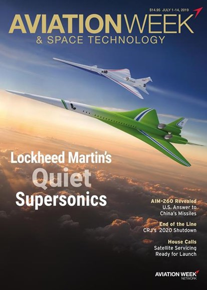 Aviation Week & Space Technology Cover - 7/1/2019