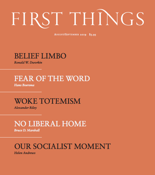 First Things Cover - 8/1/2019