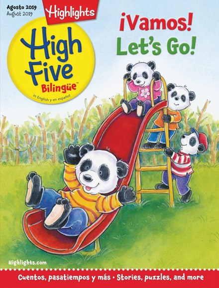 Highlights High Five Bilingue Cover - 8/1/2019