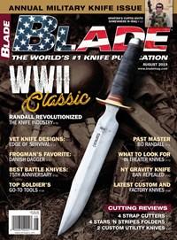 Blade Magazine | 8/2019 Cover