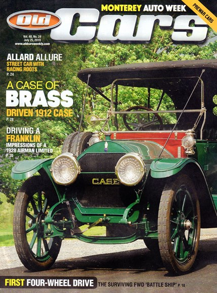 Old Cars Cover - 7/25/2019