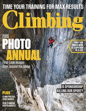 Climbing Magazine | 8/2019 Cover