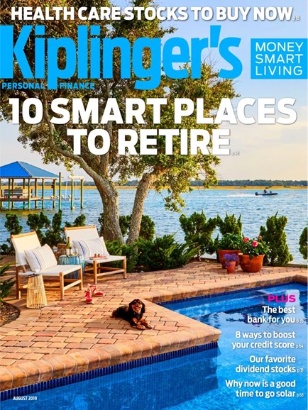 Kiplinger's Personal Finance Cover - 8/1/2019
