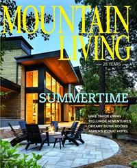 Mountain Living Magazine | 8/2019 Cover
